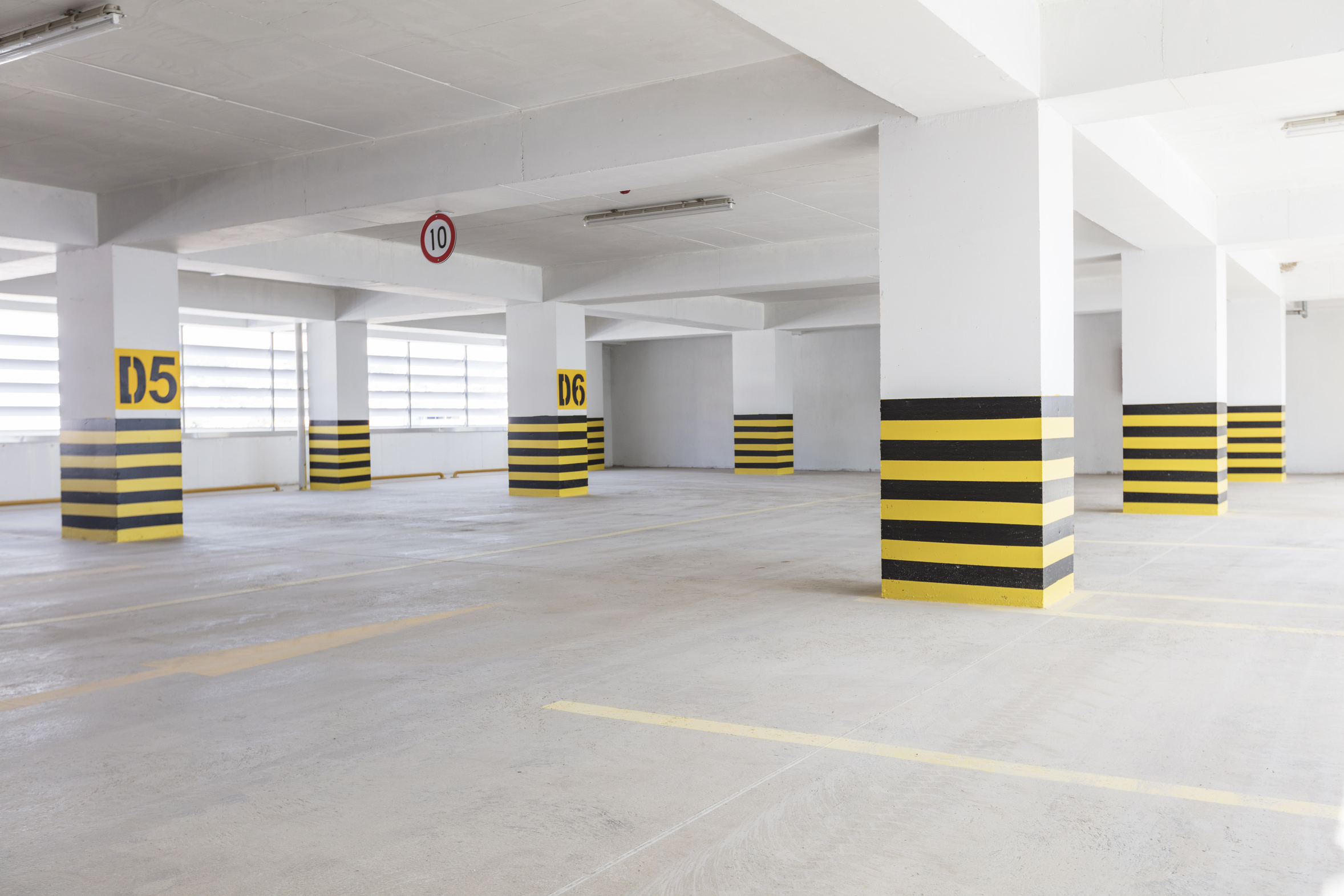 Nettoyage de parking